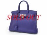 Túi xách Hermes Birkin 30 màu tím
