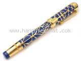 Bút máy Montblanc K18YG màu xanh vàng
