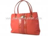Túi xách Ferragamo màu hồng cam