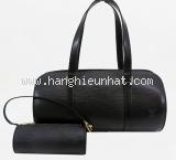 Túi Louis Vuitton epi dạng trống màu đen