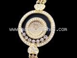 Đồng hồ Chopard happy diamond K18YG kim cương