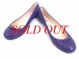 Giày bệt Bottega Veneta size 37 màu tím