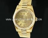 Đồng hồ Rolex nam day-date 18238 số vạch