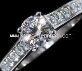 Nhẫn Cartier kim cương 1895 0.75ct