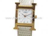 Đồng hồ Hermes màu trắng HH1.201