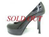 S Giày cao gót Yves Saint Laurent size 37 đen