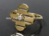 Nhẫn Louis Vuitton K18YG kim cương size 8.5