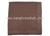 Khăn Louis Vuitton len lụa màu nâu