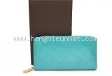 MS4258 Ví louis Vuitton vernis lagoon xanh SALEOFF