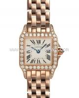 Used Đồng hồ Cartier demoiselle vàng hồng nữ