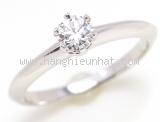 Nhẫn Tiffany&Co PT950 kim cương 0.27ct E