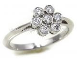 Nhẫn Tiffany&Co PT950 kim cương size 10 bông hoa