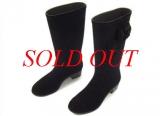 S Boot Chanel size 36 màu đen nhung