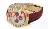 NEW Đồng hồ Rolex daytona 116518 dây da nâu