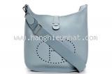 Túi đeo chéo Hermes màu xanh