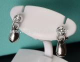 Bông tai Tiffany&Co Pt950 kim cương