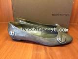 MS4134 Giày Louis Vuitton size 37 1/2 ghi SUMMER SALE