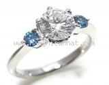 Nhẫn kim cương 1.010ct