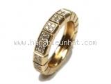 Nhẫn Chopard K18YG kim cương 0.46ct size 10