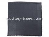 Khăn Louis Vuitton len lụa màu đen