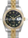NEW Đồng hồ Rolex DATEJUST 116233 la mã đen