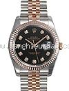 NEW Đồng hồ Rolex Datejust 116231G mặt số đen