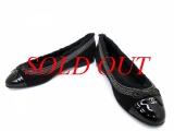 Giày bệt Chanel size 38 màu đen