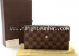 Ví Louis Vuitton gậy 3 damier màu nâu N61217