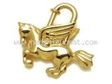 Hermes cadena con ngựa màu vàng