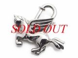 Hermes cadena con ngựa màu bạc