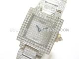 Đồng hồ Chaumet 18WG kim cương
