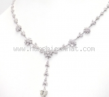 Vòng cổ kim cương hình hoa 1.310ct