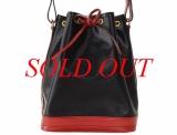 Túi Louis Vuitton Epi Petit noe đen đỏ