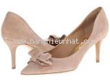 MS4420 Giày Ferragamo size 6 1/2C da lộn