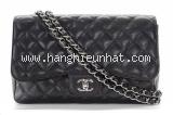 Túi xách Chanel da caviar jumbo đen