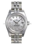 NEW Đồng hồ Rolex 179174 nữ sò trắng