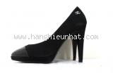 Giày cao gót Chanel size 38 đen
