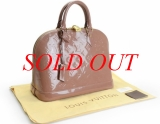 Túi Louis Vuitton monogram Vernis Alma PM M91583