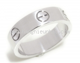 MS5001 Nhẫn Cartier love ring size 49 vàng trắng