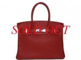 Túi xách Hermes Birkin 30 màu đỏ