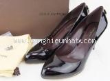 Giày Louis Vuitton 38 1/2 màu tím mận