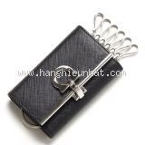 NEW Móc chìa khóa Ferragamo màu đen