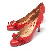 NEW Giày Salvatore Carla rosso đỏ