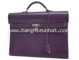 Túi xách Hermes của nam màu tím