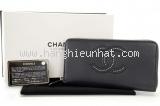 S Ví da Chanel màu đen