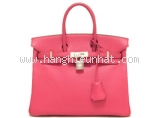 Túi hermes birkin 25 rose stocking