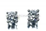 Bông tai Tiffany&Co kim cương 1 viên