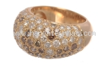 Nhẫn kim cương Cartier size 9