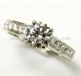 Nhẫn Cartier kim cương 0.90ct nước H