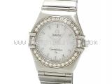 Đồng hồ Omega Constellation viền kim cương 146671